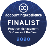 Practice Management Software of the Year - Finalist Badge